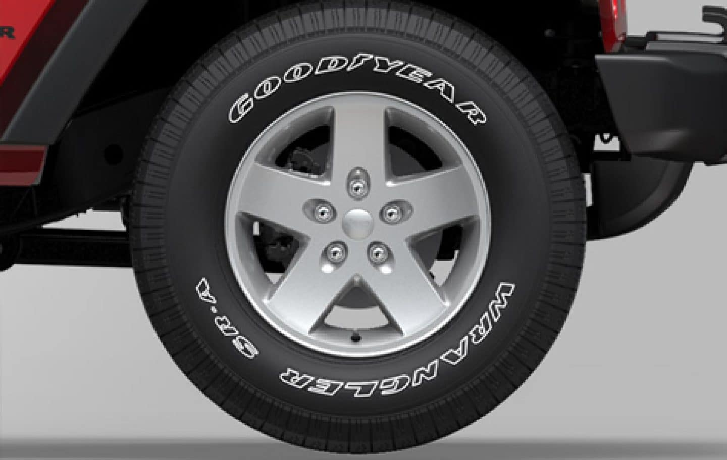 Jeep Wrangler Unlimited 18 Inch Silver Painted Wheels