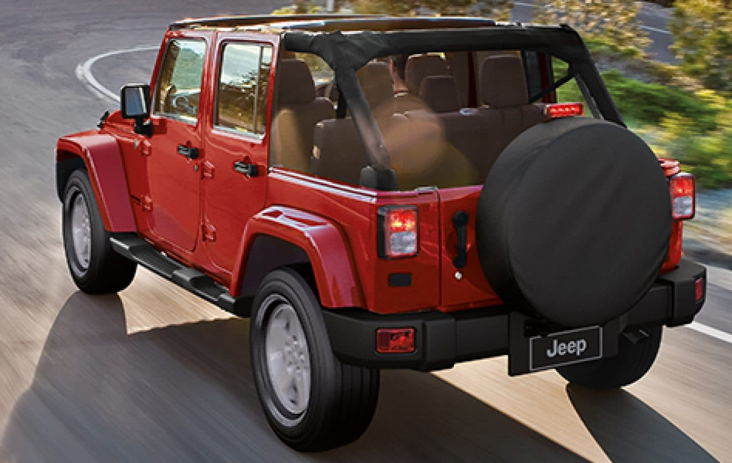 Jeep Wrangler Unlimited Body Color Fender Flares