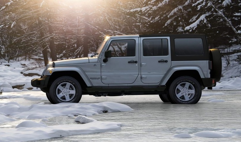 Strike a Look at the JEEP WRANGLER UNLIMITED