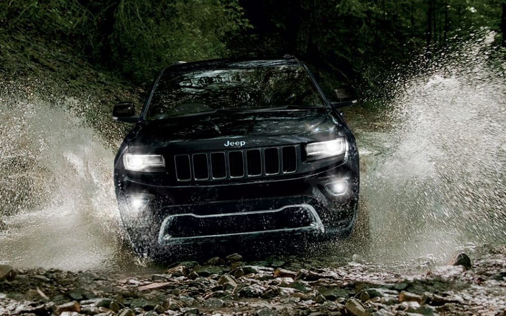 Jeep Grand Cherokee in Water View