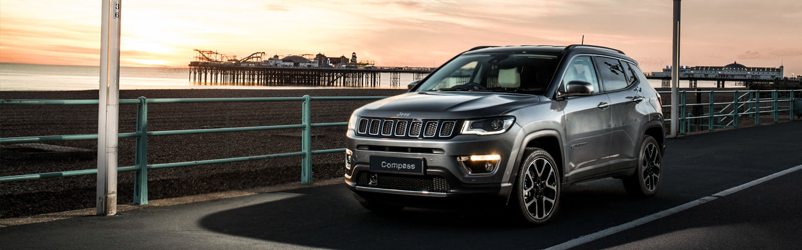 PPS Jeep - Compass Silver on Road