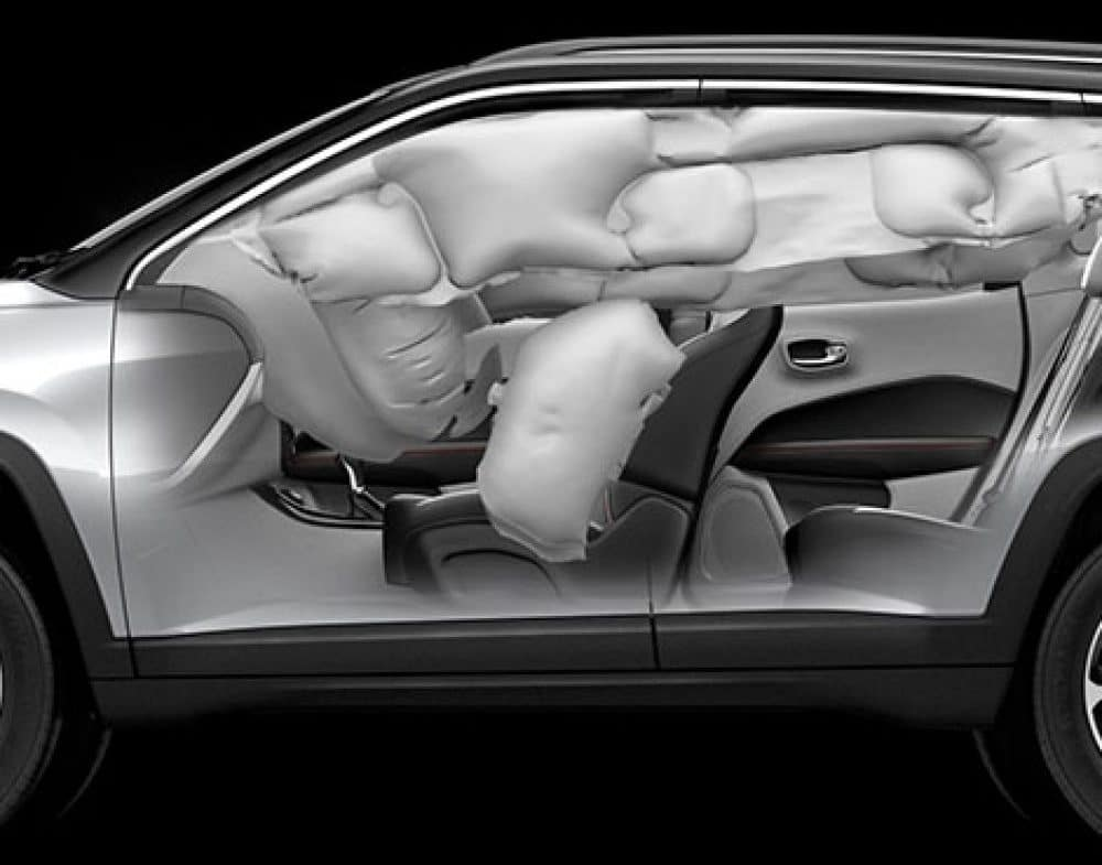 Jeep Interior View Airbags