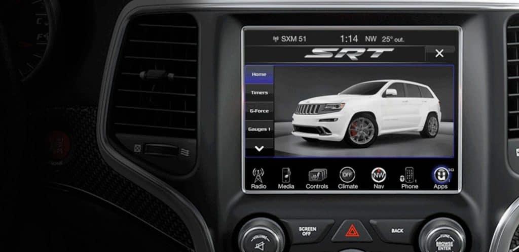 Jeep Grand Cherokee SRT Performance Data