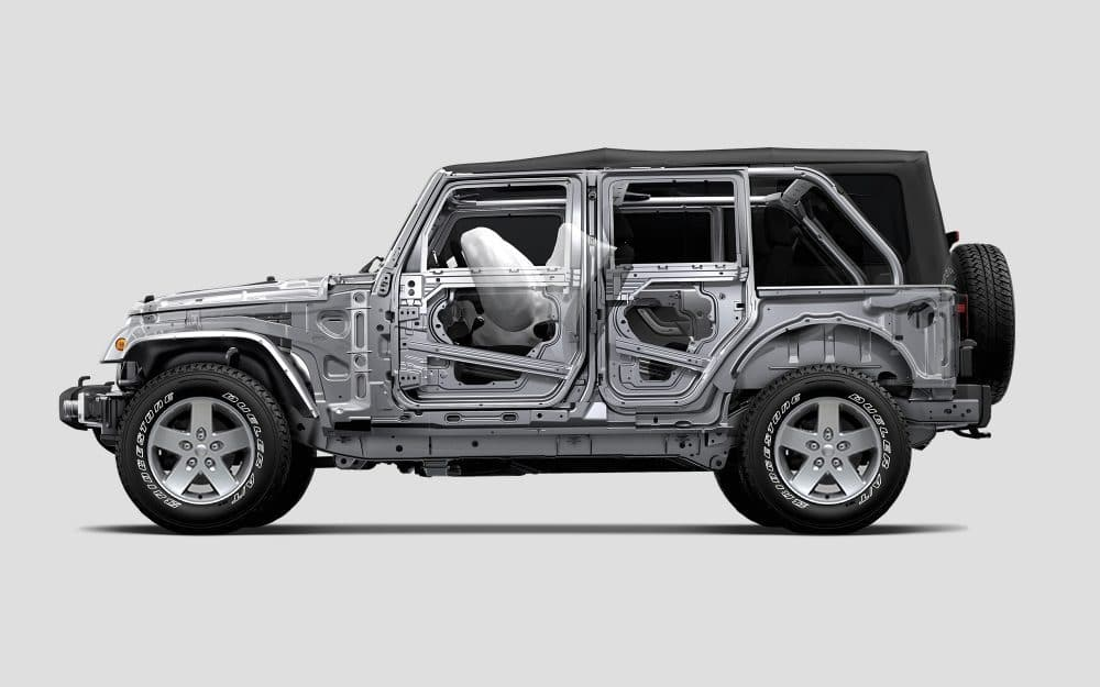 Jeep Wrangler Unlimited Safery and Security