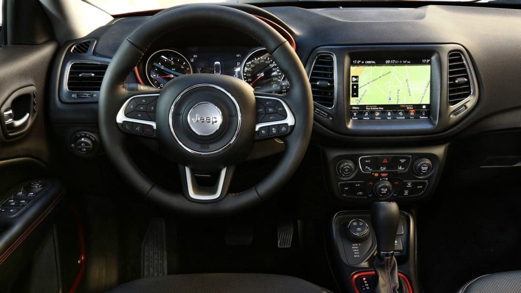 Jeep Compass Trail Hawk Interior Overview