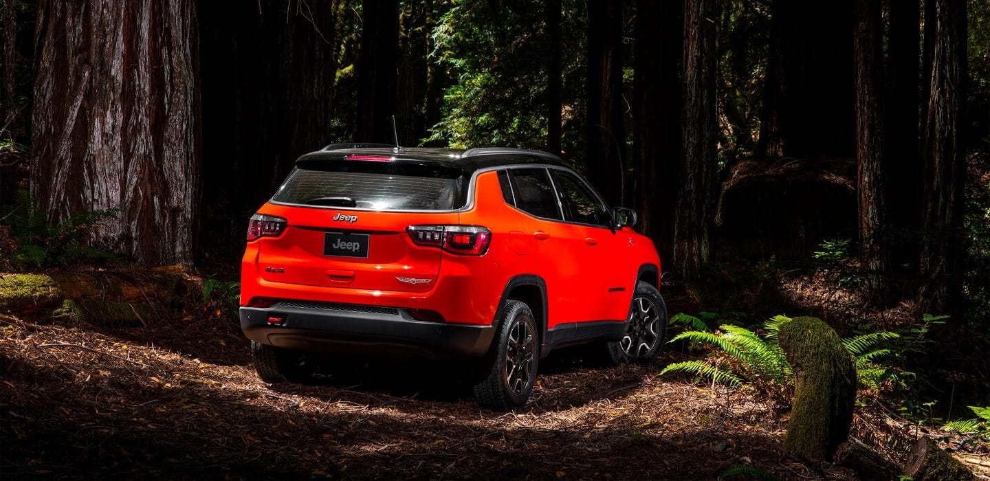 Jeep Compass Trailhawk Rear Exterior