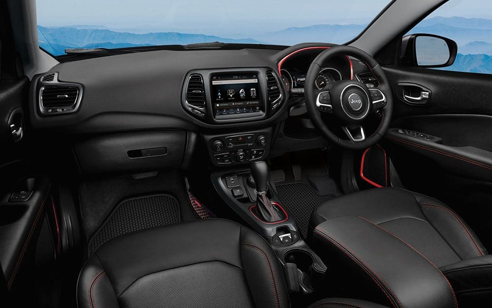 PPS Jeep Compass Trailhawk Interior All Black