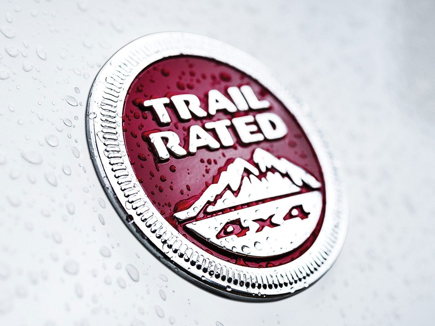 Jeep Compass Trailhawk Trail Rated® Badge