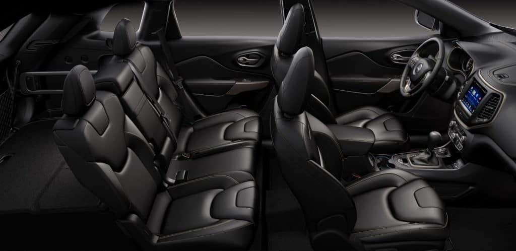 PPS Jeep Compass Interiors