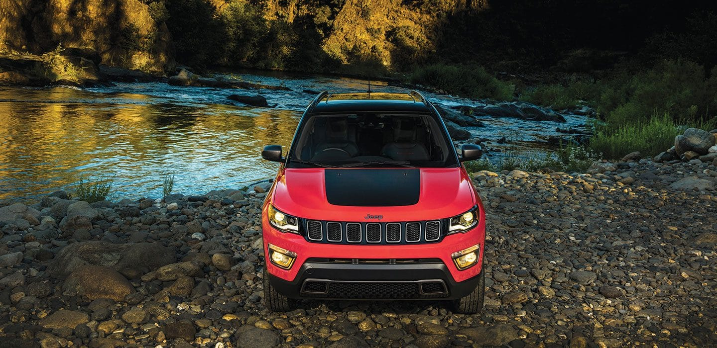 Jeep Trailhawk front View - PPS Jeep Bangalore