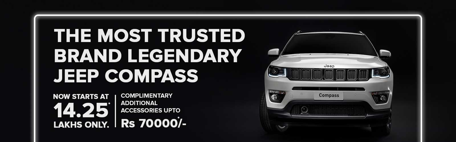 Jeep Compass Offers