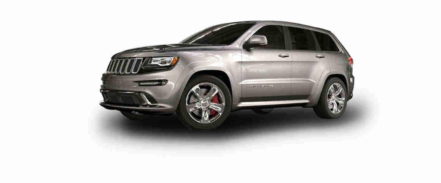 Jeep Grand Cherokee Billet SRT Silver Aluminium