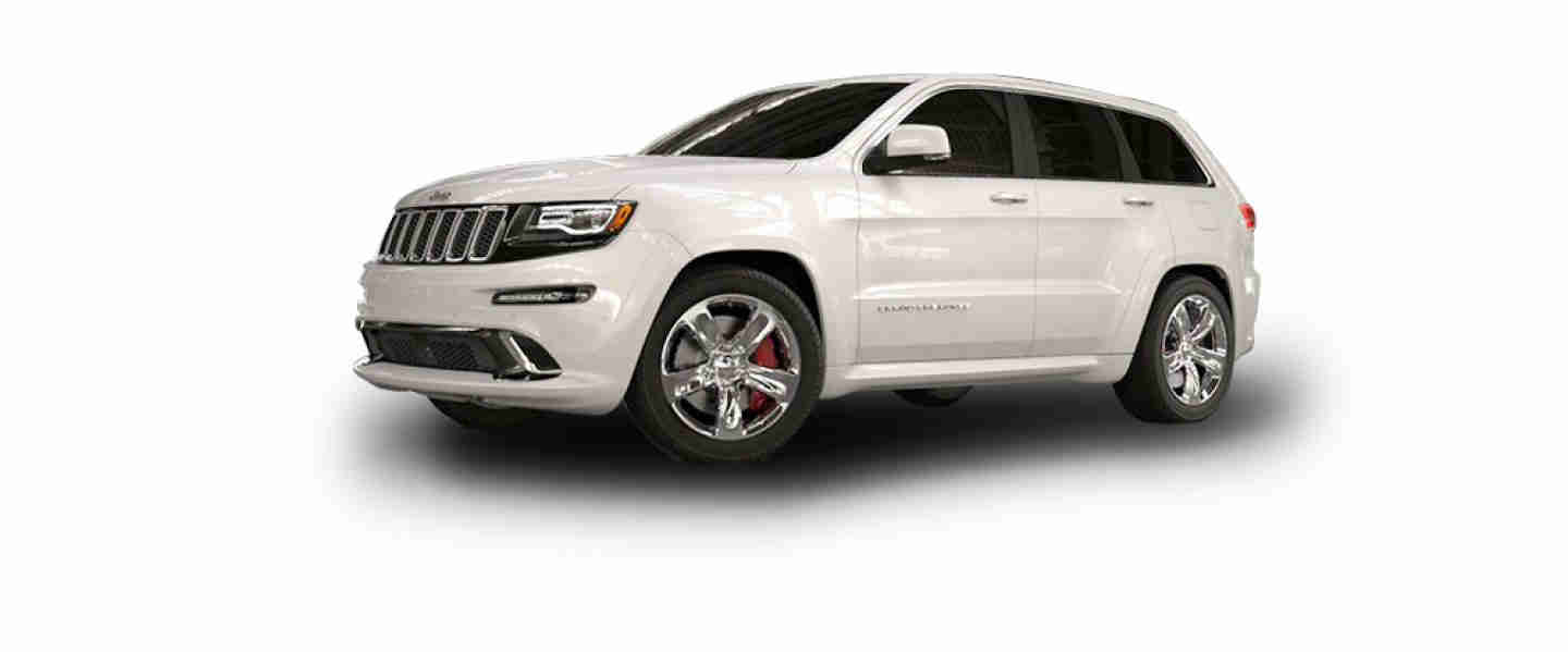 Jeep Grand Cherokee SRT Bright White Aluminium