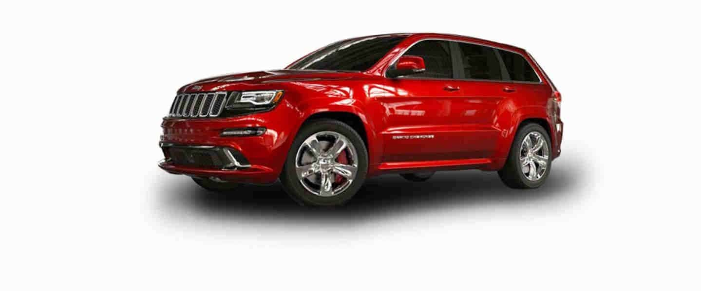 Jeep Grand Cherokee SRT Cherry Red Aluminium