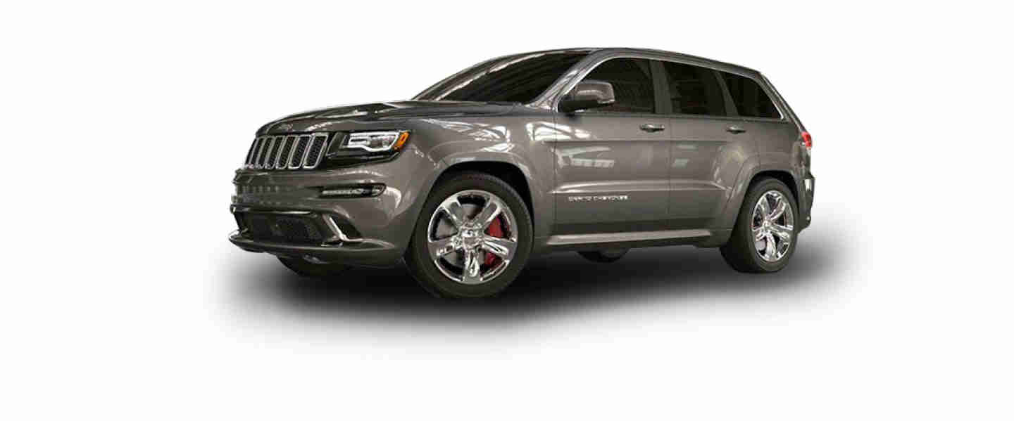 Jeep Grand Cherokee SRT Crystal Granite Aluminium
