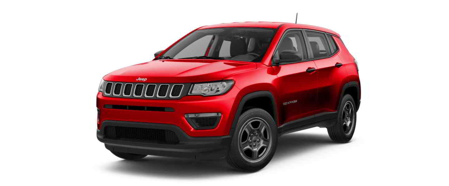 Jeep Compass Limited Exotica Red