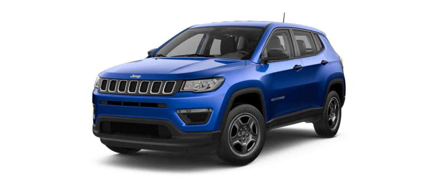 Jeep Compass Showroom | Jeep Compass Limited Hydro Blue