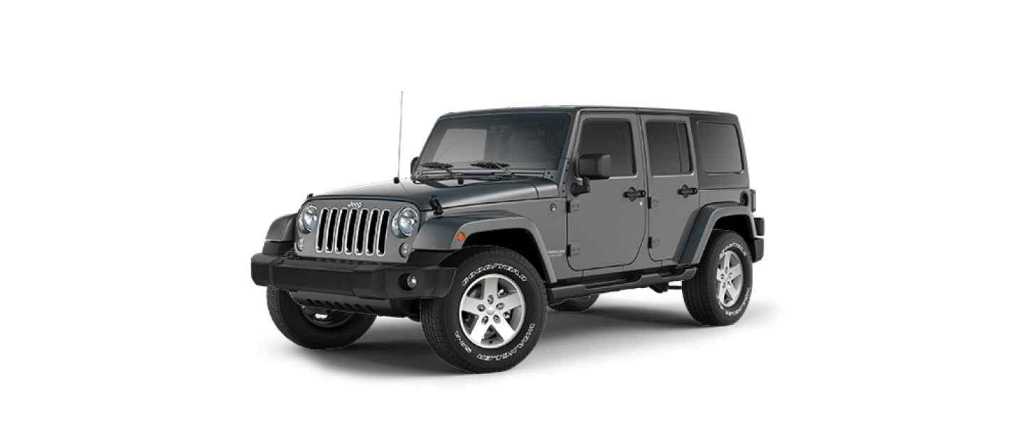 Jeep Wrantler Unlimited Granite Hard Top Full Doors