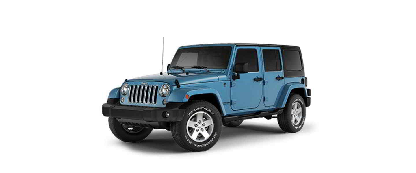 Jeep Wrangler Unlimited Chief Color Coat