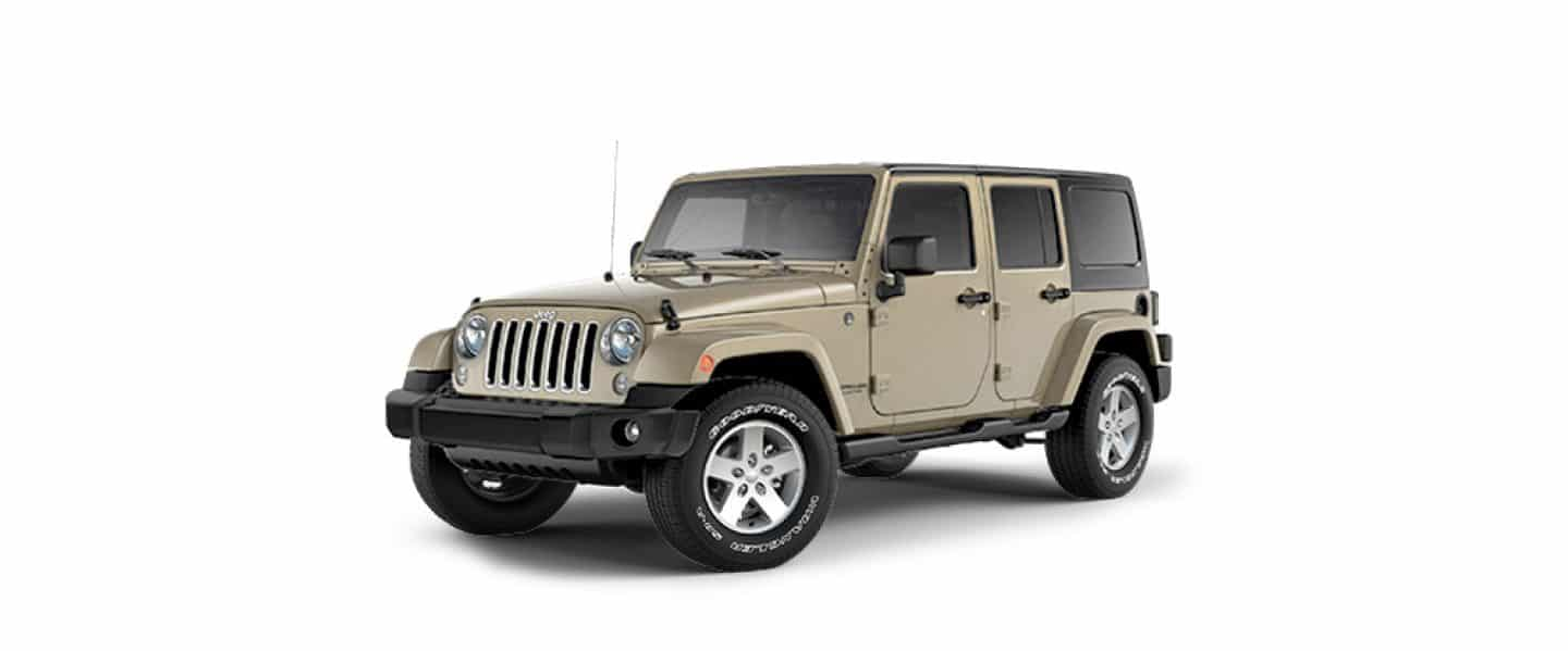 Jeep Wrangler Unlimited Gobi Color Coat